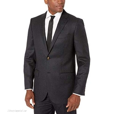 Brand - Buttoned Down Men's Classic Fit Italian Wool Flannel Suit Jacket