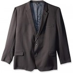 Haggar Men's Big and Tall B&T Active Series Stretch Classic Fit Suit Separate Coat Charcoal 52R