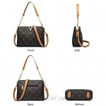 PVC Faux Leather Handbags for Women Artificial Leather Ladies Top-handle Bags