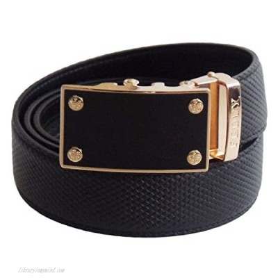 FEDEY Mens Ratchet Belt Leather Classic Series Custom Fit for Waist 26 to 54 inches