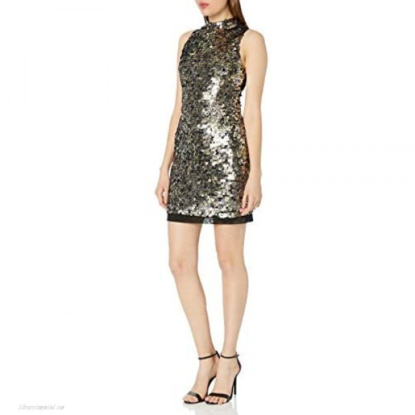 French Connection Women's Moon Rock Sparkle Dress
