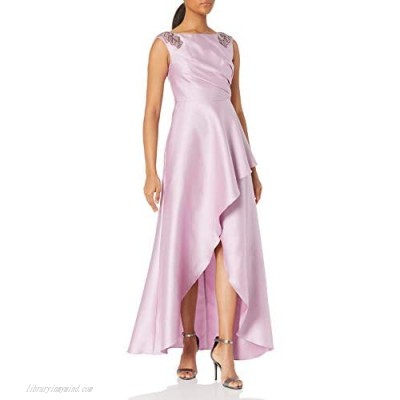 Adrianna Papell Women's Mikado Hilow Gown